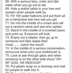 100 Crazy Things To Do With Your Best Friend!