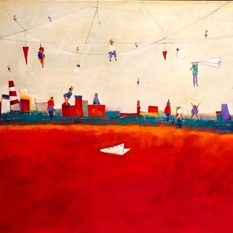 #carredartistes #CristinaTrovatoArte #pintura #color #gallery - cristinatrovato_arte
