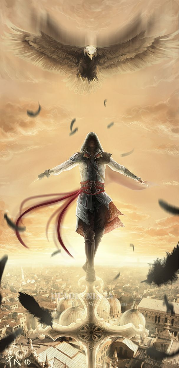 Ezio Auditore da Firenze a.k.a. the assassian