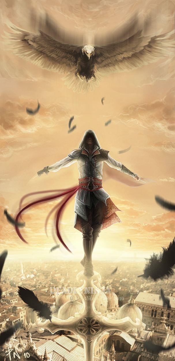 Ezio. This is epic.
