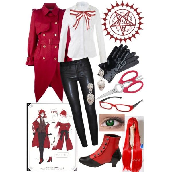 Grell cosplay outfit!