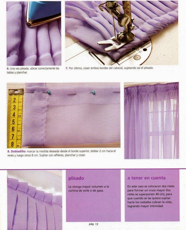 revistas de gratis como hacer cortinas paso a paso