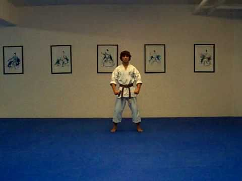 Taikyoku Rokudan Shotokan Karate Kata