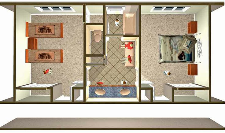 Design A Jack And Jill Bathroom Floor Plans Jack Jill