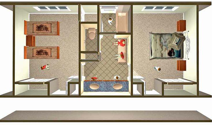 Design A Jack And Jill Bathroom Floor Plans Jack Jill