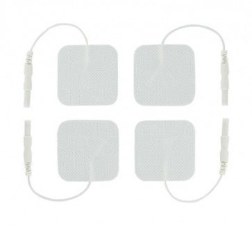 4cm square electrode pads for electrosex play. A higher grade pad with great conductive qualities.