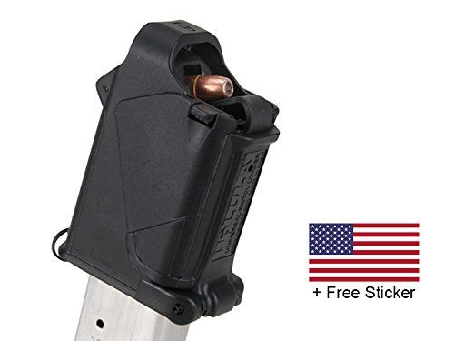 I just used this last weekend  MagLula UpLula Universal Pistol Magazine Speed Loader Loads All Handgun Mags 9mm, 10mm, 357SIG, 40S&W, 45ACP + FREE US Flag Sticker follow this link click here http://bridgerguide.com/maglula-uplula-universal-pistol-magazine-speed-loader-loads-all-handgun-mags-9mm-10mm-357sig-40sw-45acp-free-us-flag-sticker/ for much more detail about it. Thanks and please repin if you like it. :)