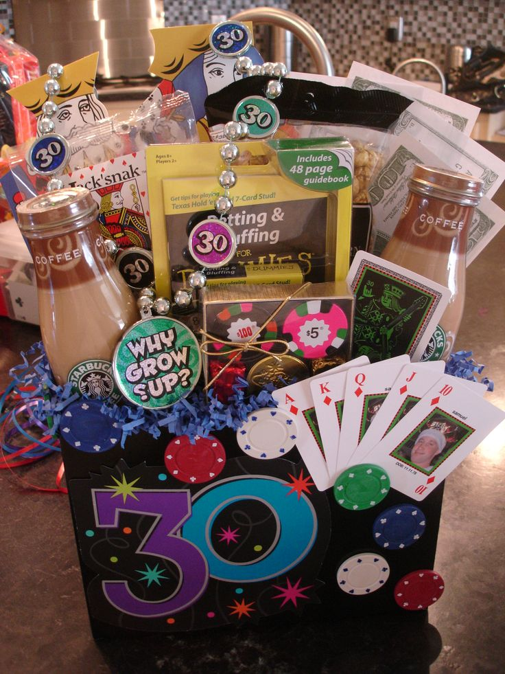 Las Vegas 30th Birthday Gift Basket - Delivery to all Las Vegas hotels
