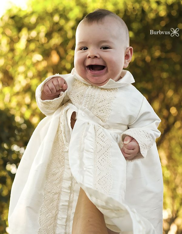 ac3643ae9 Baby Mohawk Bernardo, With this christening gown for baby boys