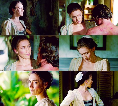 "Louise Barnes as Miranda Barlow in ""Black Sails"""