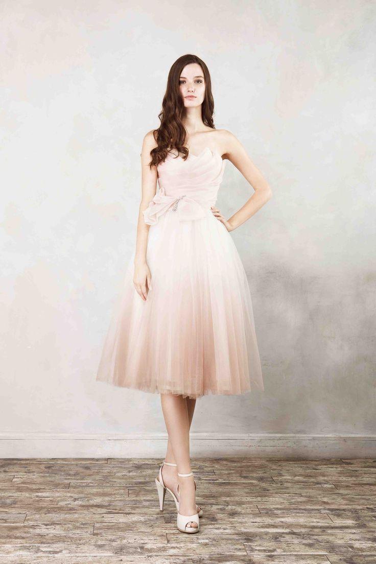 78 best Wedding Dresses: Short Skirts images on Pinterest | Ballroom ...
