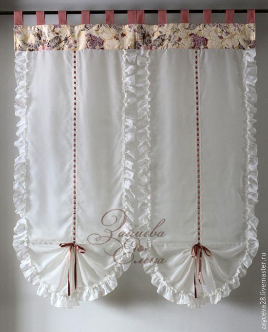 Купить шторы тюлевые Маруся - белый, тюль, тюлевые шторы, шторы из вуали, лёгкие шторы