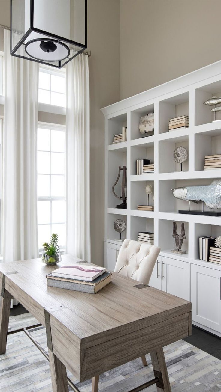Home Office Iwht Built Ins Built In Bookcases In Home Office