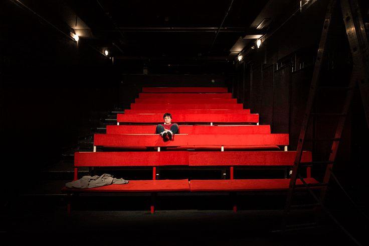 Gif en el Antic Teatre en una prueba de luces por Alessia Bombaci Photo