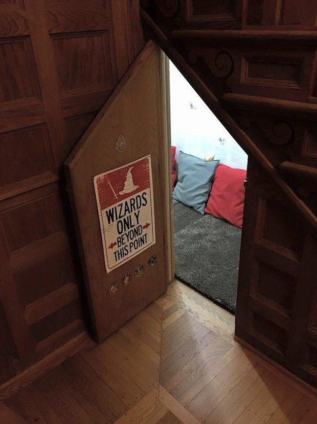 """[My two boys] love the room. They play hide-and-seek and their friends love to check it out when they come over,"" Bonnet said. 