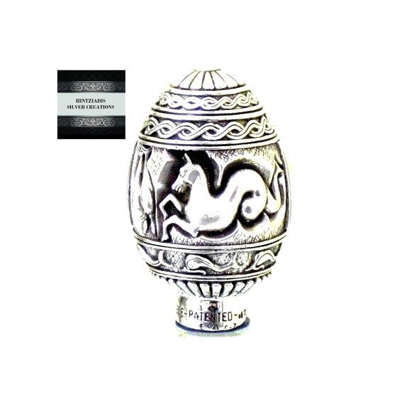 ANCIENT GREEK WARSHIP. Handmade Silver by HintziadisCreations