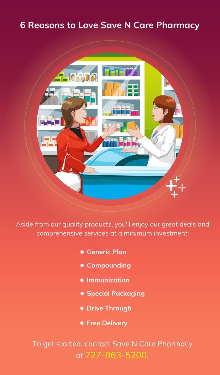 6 Reasons to Love Save N Care Pharmacy Pharmacy www