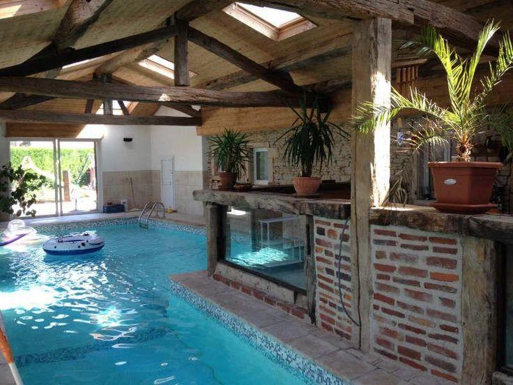 Piscine int rieure projets essayer pinterest for Construction piscine originale