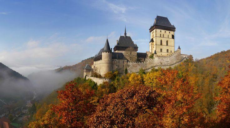 Hrad Karlštejn, Česká Republika (Karlštejn Castle, Czech Republic)
