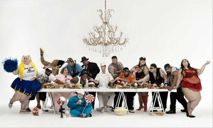 Le «Big Supper» (Métamorphoses) [Gérard Rancinan] (La Última Cena / The Last Supper)