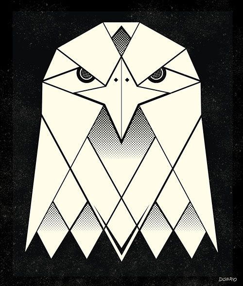 geometric eagle - Google Search