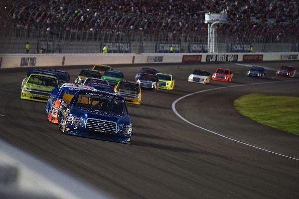 NASCAR Race Mom: Tyler Reddick Wins At Las Vegas!