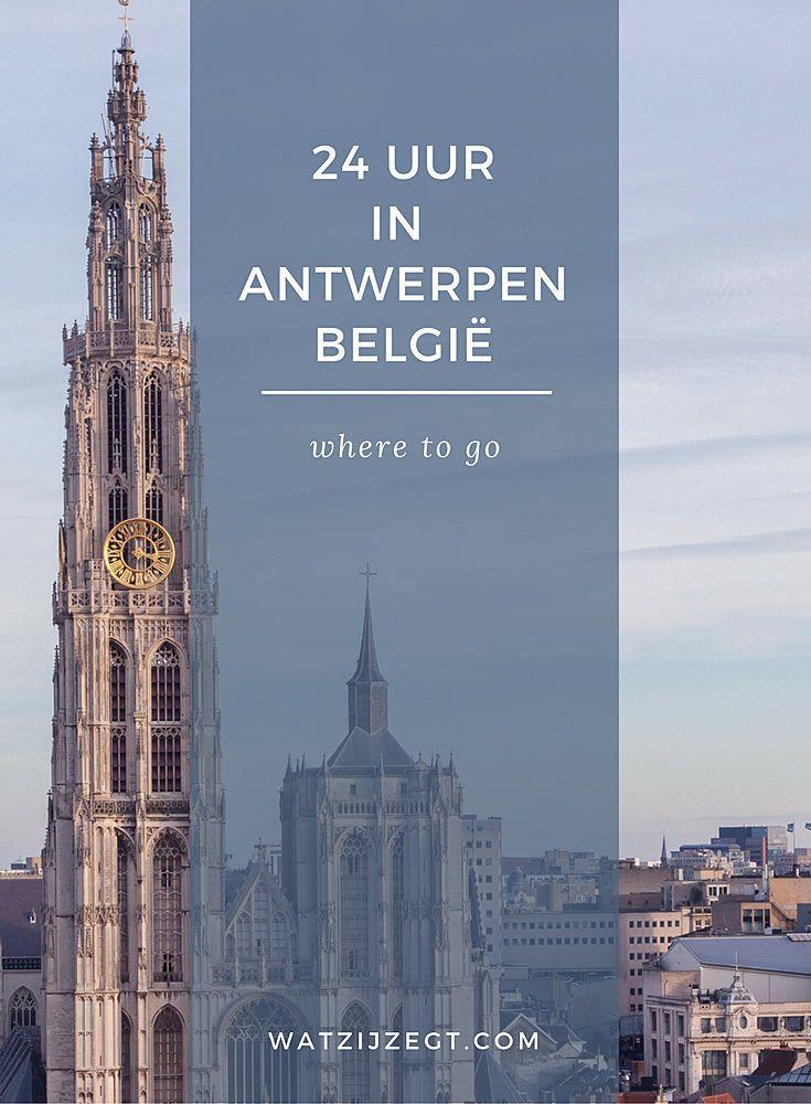 24 uur in Antwerpen