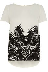 OASIS trend 'california girl' placement palm tee