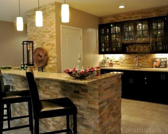 Stone Bar Design Ideas, Pictures, Remodel, And Decor   Page 26