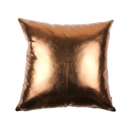 Copperfield Metallic Cushion