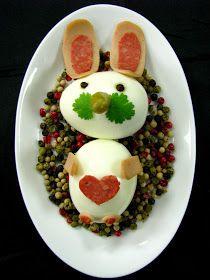 Just My Delicious: Zajączek z Jajek - Dania Wielkanocne