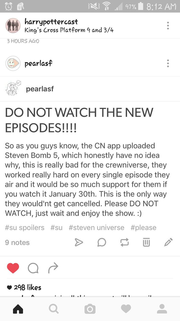 I already have watched the episodes, but I will be watching them on their release date to support the crewniverse!