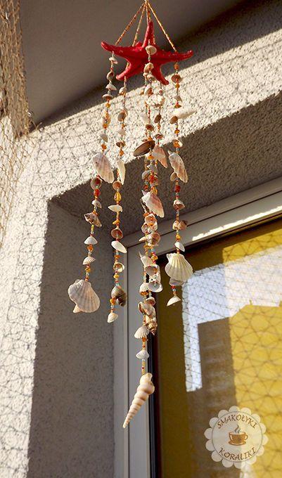 Balkon w morskim stylu – część 2 | Smakołyki i koraliki