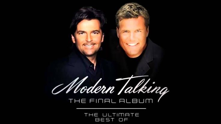 Modern Talking - The Final Album: The Ultimate Best Of (Full Album) Modern Talking was a German synthpop duo consisting of Thomas Anders and Dieter Bohlen.[2] Their music has often been classified as Europop.[1]