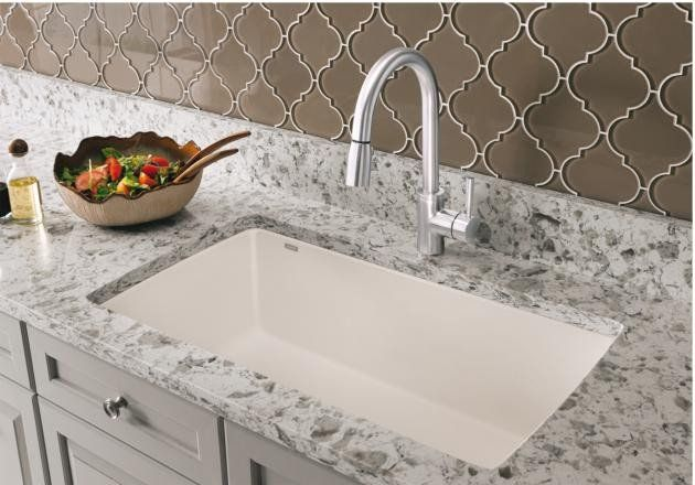 Beauty, brains and brawn come together to create our revolutionary SILGRANIT® II sinks collection. Created with hard-as-stone material, a smooth-as-silk surface and a range of complimentary hues, each