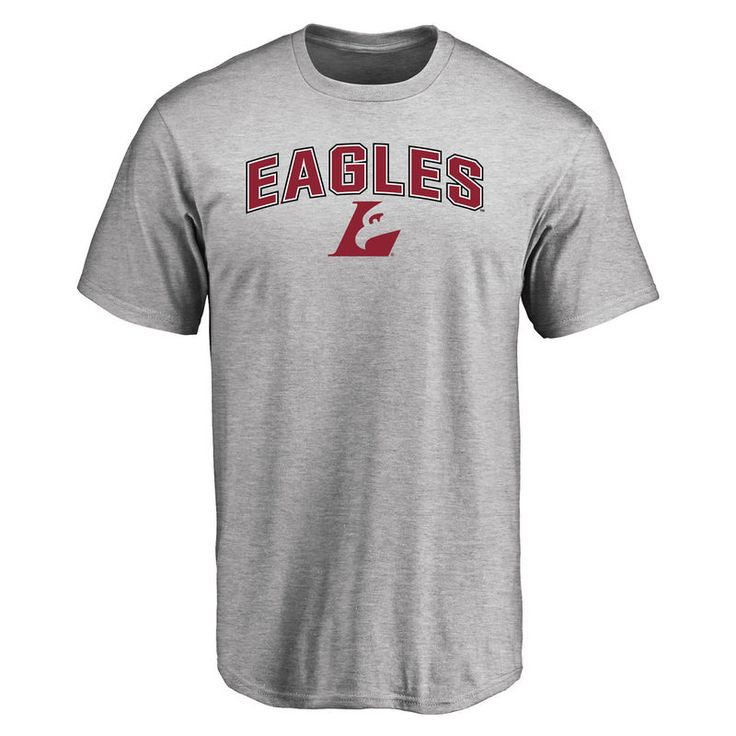 Wisconsin-La Crosse Eagles Proud Mascot T-Shirt - Ash
