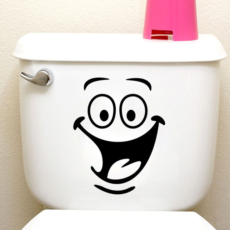 big mouth toilet stickers wall decorations 342. diy vinyl adesivos de paredes home decal mual art waterproof posters paper 7.0 *** Clicking on the VISIT button will lead you to find similar product
