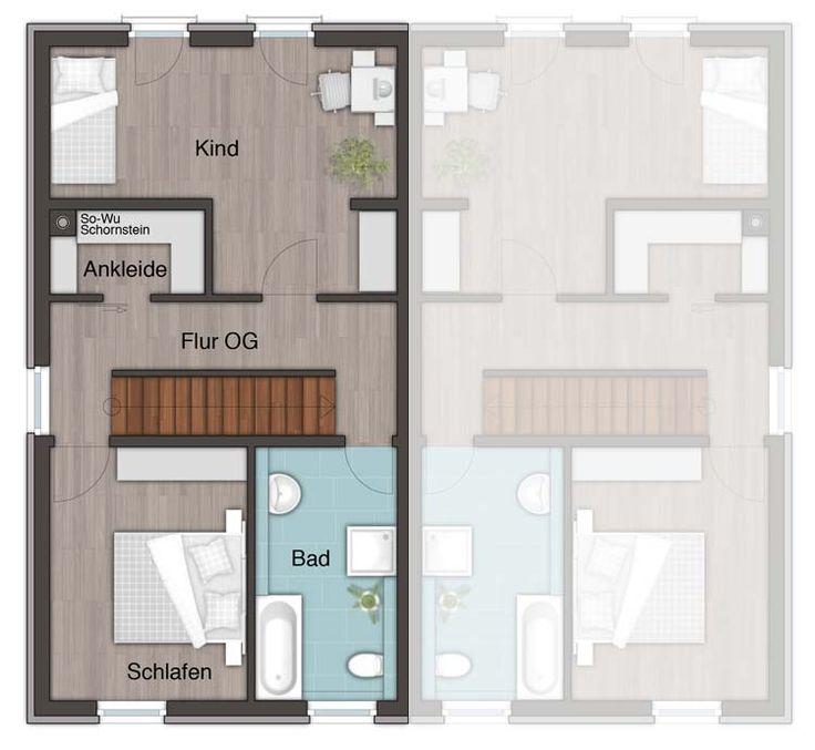 die besten 25 reihenhaus grundriss ideen auf pinterest reihenhaus treppenplan und garten. Black Bedroom Furniture Sets. Home Design Ideas