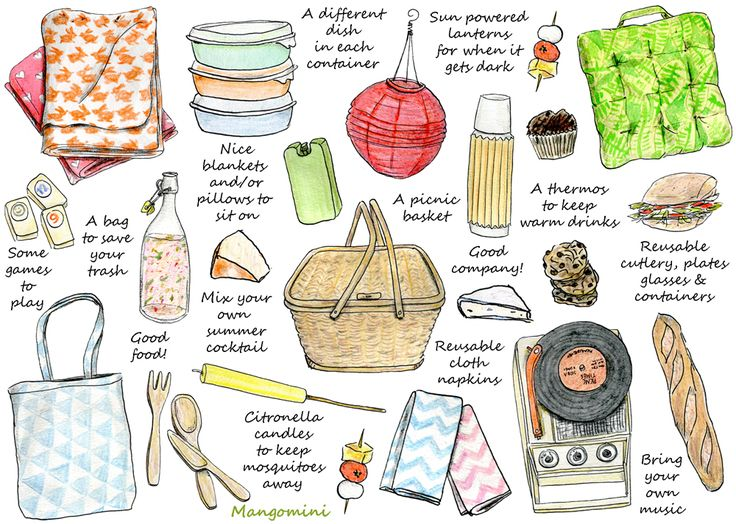How To Have A Perfect Picnic: for that fantasy moment when I'll have a picnic basket
