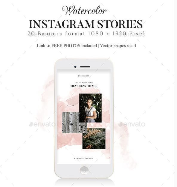 40 Coolest Instagram Stories Templates And Resources Texty Cafe Instagram Story Template Story Template Instagram