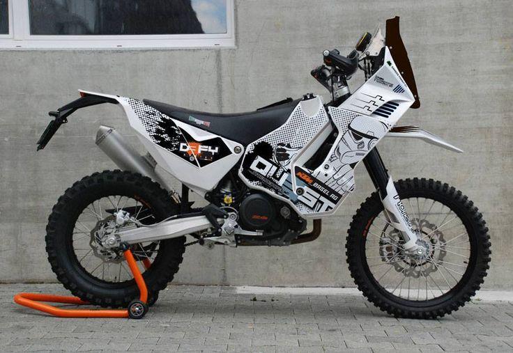 KTM 690 Rally Bike