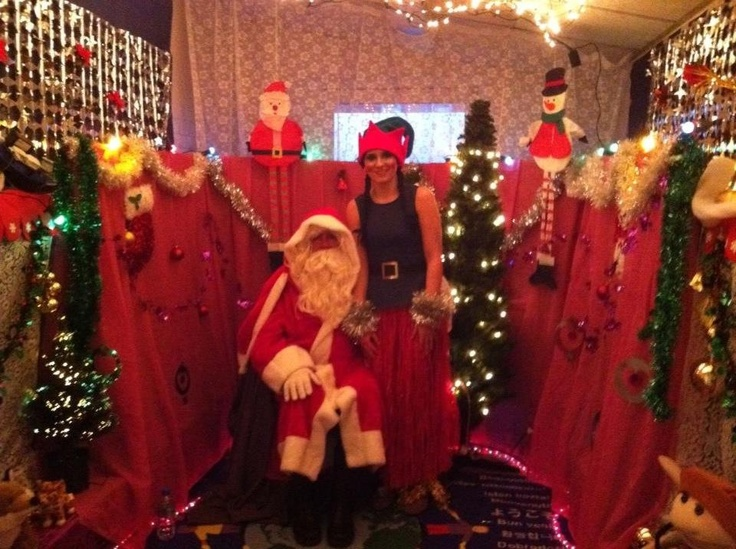 Santas grotto for the local school