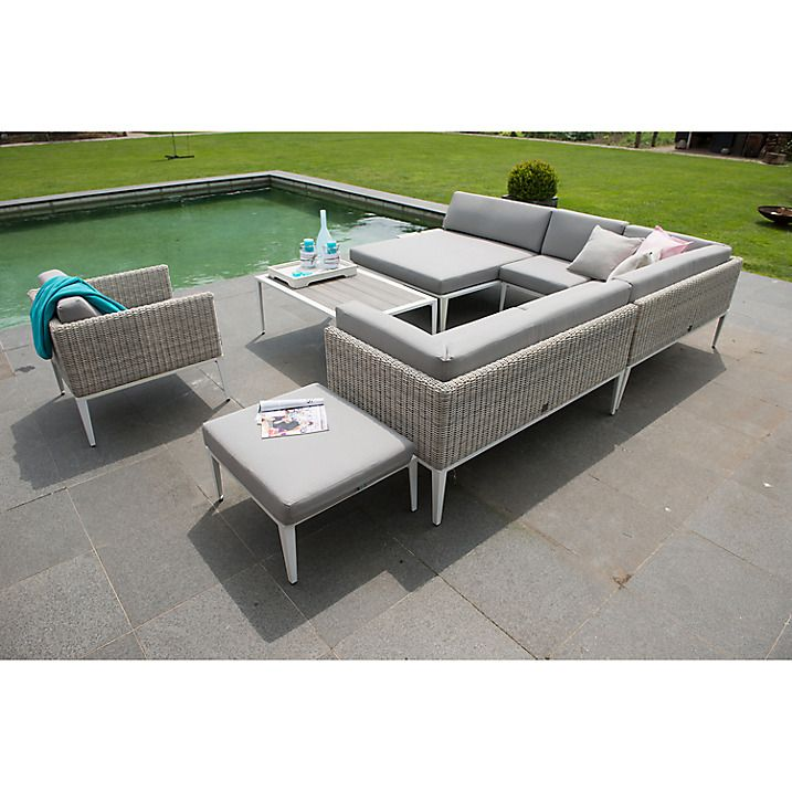 Fancy Buy Seasons Outdoor Riviera Modular Daybed Provance Online at johnlewis