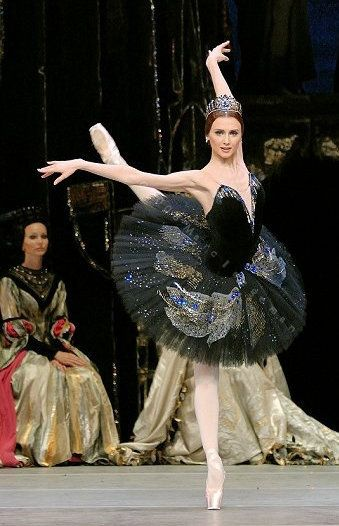 Svetlana Zakharova como Odile en El Lago de los cisnes (Bolshoi Ballet) - Foto por Marc Haegeman.