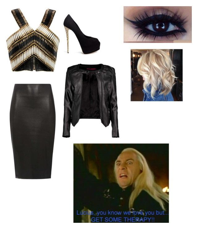 date with lucuis malfoy by daniellabramhall on Polyvore featuring Balmain, Boohoo, Dorothy Perkins and Giuseppe Zanotti
