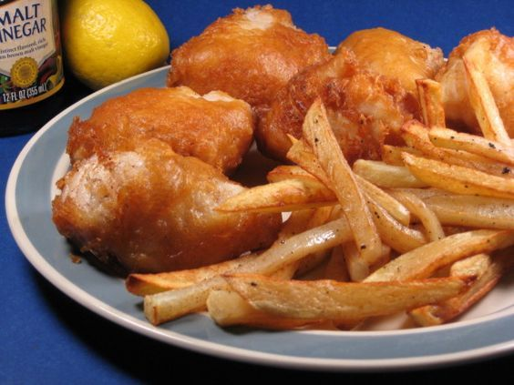 Real English Fish And Chips With Yorkshire Beer Batter Recipe - Food.com