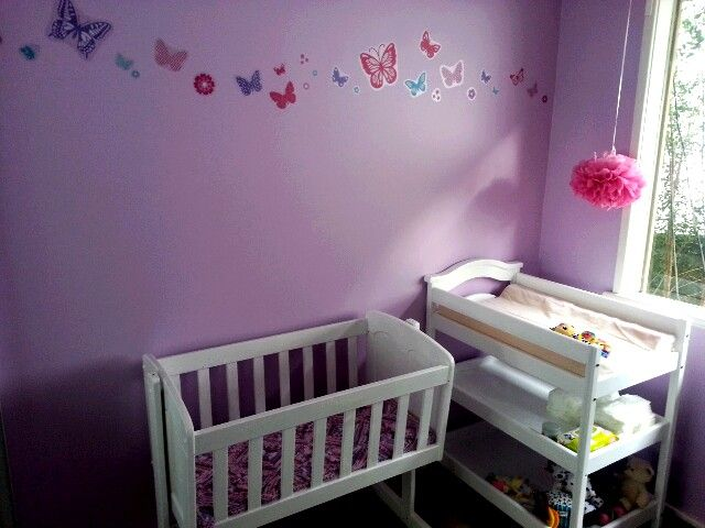 Start of the Nursery for our baby girl