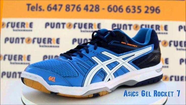 Nuevas zapatillas #Asics #Gel Rocket 7. Disponibles en #Puntofuerte con una excelente relación calidad-precio #zapatillas #balonmano Más información: www.puntofuerte.es