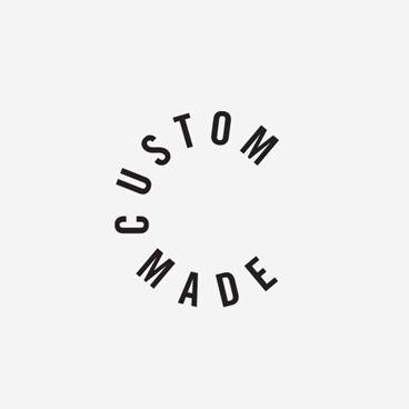 Custom Made logotype designed by Homework.