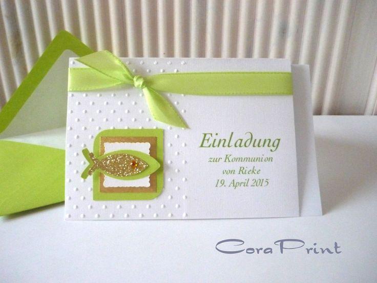 einladungskarten-kommunion-basteln   einladungskarten hochzeit, Einladungskarten